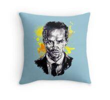 Jim Moriarty + paint Throw Pillow