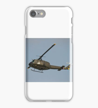 """Bell UH-1H """"Huey"""" helicopters iPhone Case/Skin"""