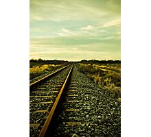 Railroad to Nowhere Photographic Print