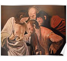 Thomas from Michelangelo Caravaggio Poster