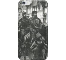 William Wallace Bound on way to Westminster Hall 1305 iPhone Case/Skin
