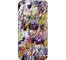 Colorful Abstract Art work iPhone Case/Skin