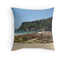Puerto Rico Cliff Throw Pillow