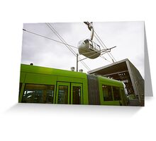 PDX Mass Transit Conjunction Greeting Card