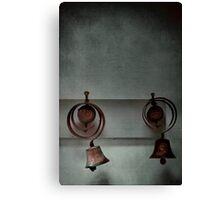 Rustic bells Canvas Print