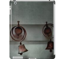 Rustic bells iPad Case/Skin