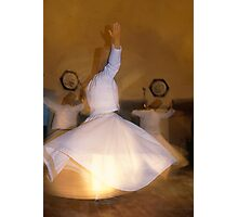 Whirling Dervishes in Cappadocia Photographic Print
