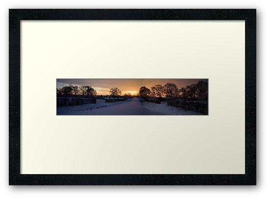 Beautiful Cheshire Sunrise by Adam Costello