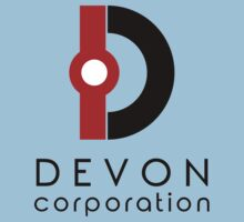 Devon Corporation Logo (in Black) Kids Tee