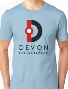 Devon Corporation Logo (in Black) Unisex T-Shirt