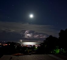 Mt Pleasant Moon by steen
