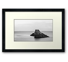 Big Rock Framed Print