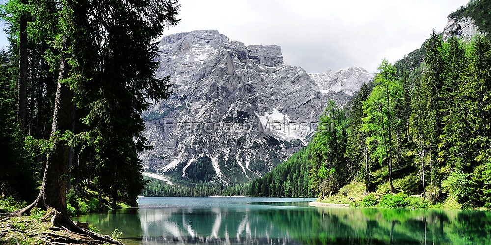 Mountain lake reflections by Francesco Malpensi