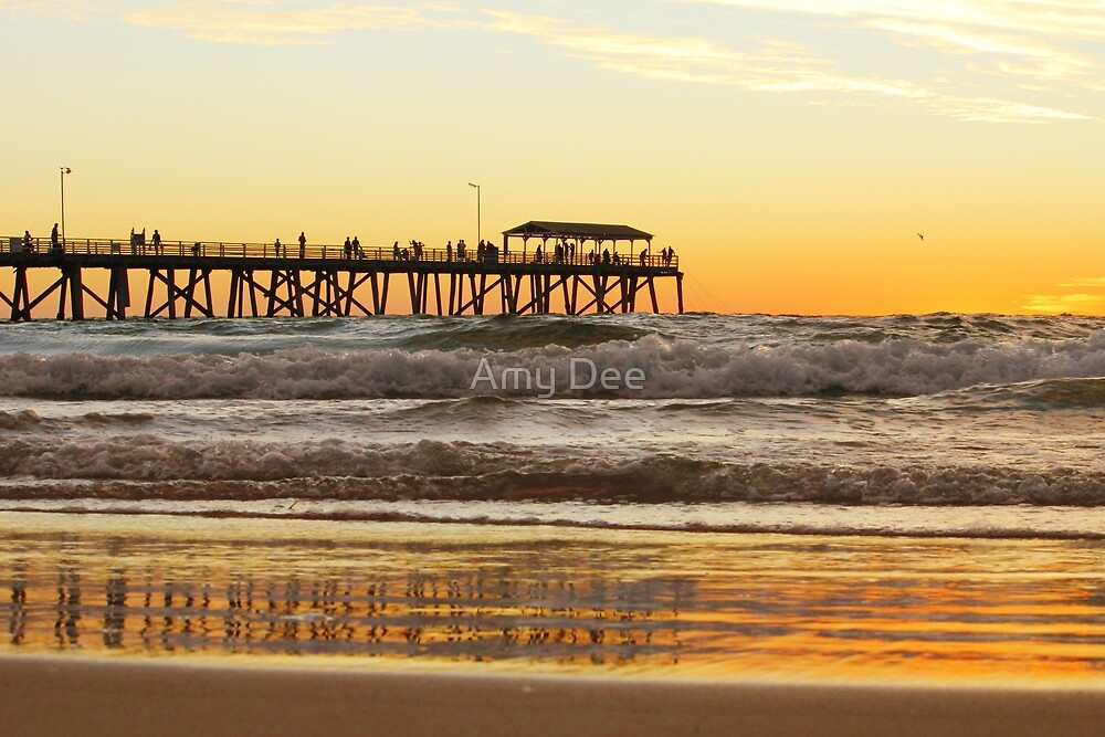 Jetty Reflection by Amy Dee