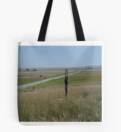 Little Pump on the Prairie Tote Bag