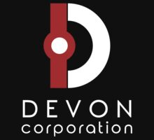 Devon Corporation Logo (in White) One Piece - Short Sleeve