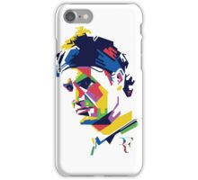 Roger Federer art iPhone Case/Skin