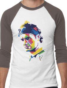 Roger Federer art Men's Baseball ¾ T-Shirt