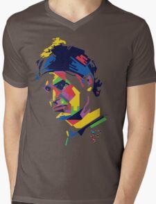 Roger Federer art Mens V-Neck T-Shirt