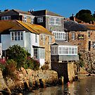 Mousehole, Cornwall, Just After Sunrise by rodsfotos
