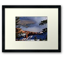Bryce Canyon series 13 Framed Print