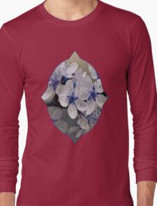 Blue Blossom Long Sleeve T-Shirt