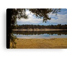 Worth Taking a Second Look Canvas Print