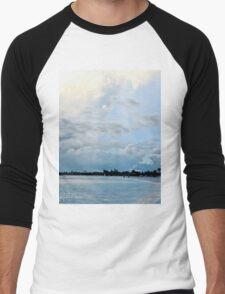 Rainbow at Grace Bay Beach Men's Baseball ¾ T-Shirt