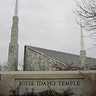Boise, Idaho Temple by Marnie-Joye