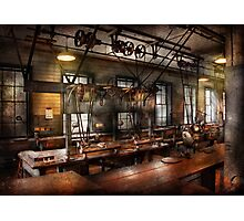 Steampunk - The Workshop Photographic Print