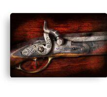 Gun - Rifle Works  Canvas Print