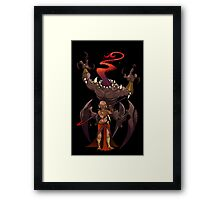 Priestess of the Bloody Tongue Framed Print