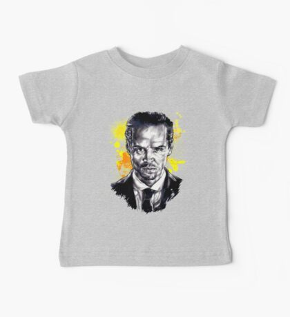 Jim Moriarty + paint Baby Tee