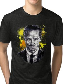 Jim Moriarty + paint Tri-blend T-Shirt