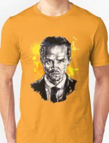 Jim Moriarty + paint T-Shirt