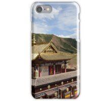 Tibetan monastery iPhone Case/Skin