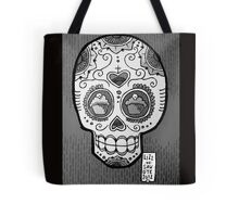 Scary Berry (b&w) Tote Bag