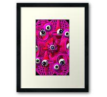 Diabolically Eye-bolic Framed Print
