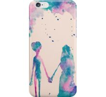 Watercolor Corpse Bride iPhone Case/Skin
