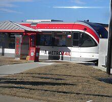 Austin's New Metrorail - Red Blur, Silver Streak by Navigator