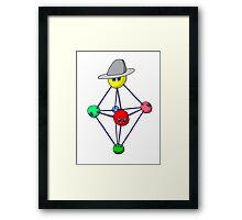 The Cool Molecule! Framed Print
