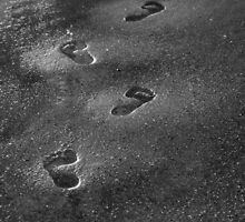 Footprints by ashleigh roberts