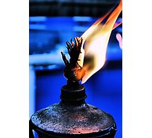 Just a flame Photographic Print