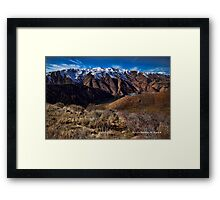 IDAHO SCENERY (HDR) Framed Print