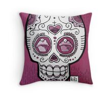 Scary Berry Throw Pillow