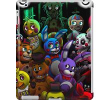 FNaF-all togheter iPad Case/Skin