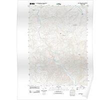 USGS Topo Map Oregon Blue Mountain 20110902 TM Poster