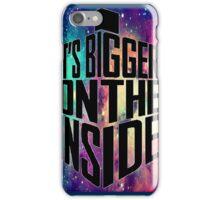 Bigger on the inside - Dark iPhone Case/Skin