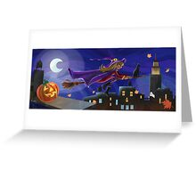 NY Witch Greeting Card