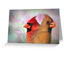 Mr. and Mrs.  Greeting Card